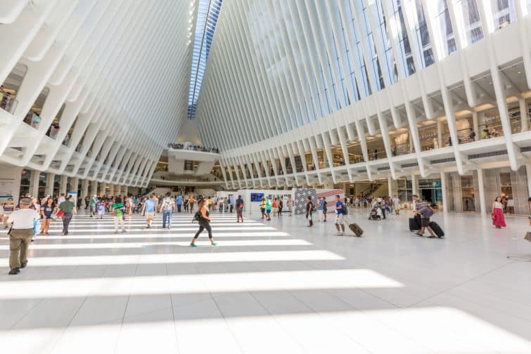 Le Westfield World Trade Center
