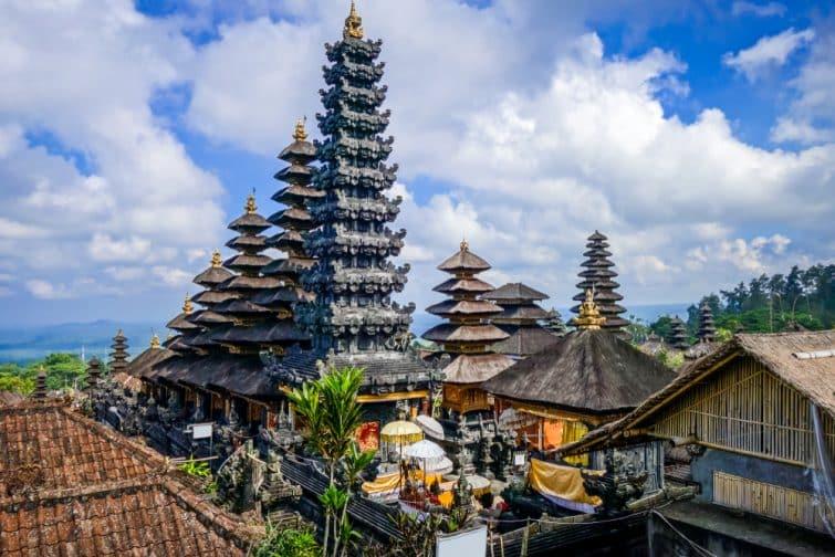 Temples Besakih, Bali