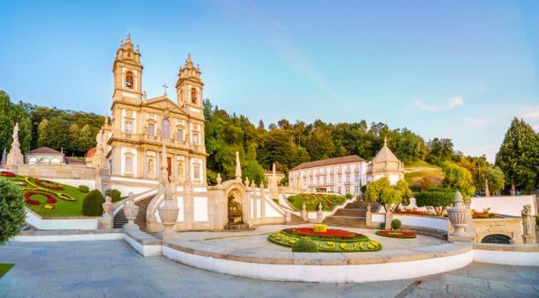 Sanctuaire de Bom Jesus, Braga, Portugal