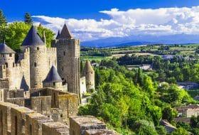 Carcassonne - impressionnante ville-forteresse de France