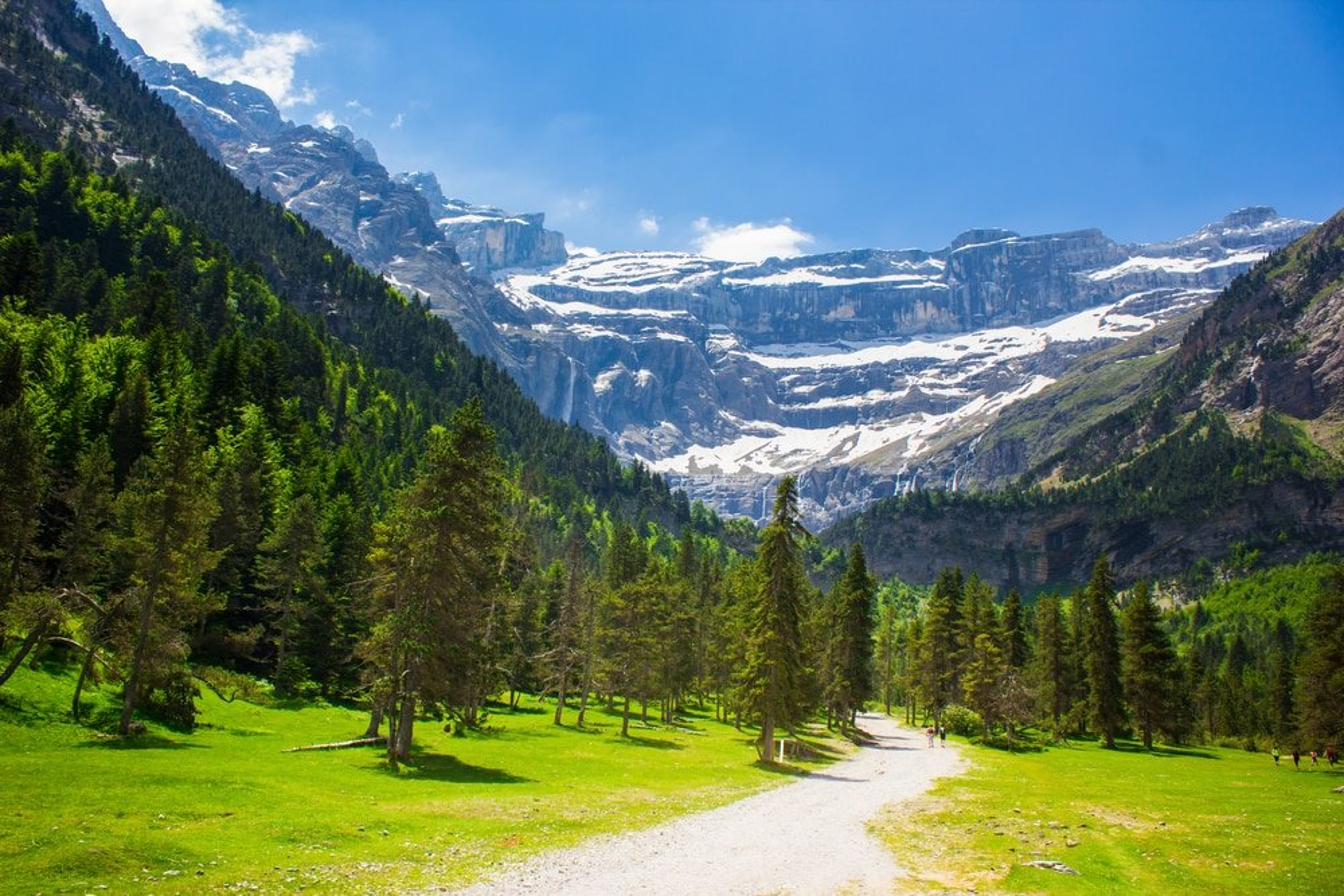 Gavarnie, Pyrénées Cascades,