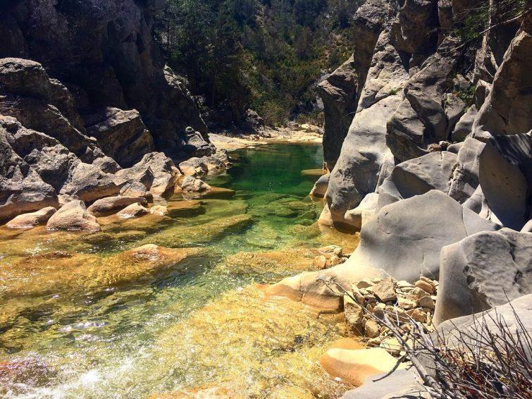 Canyon de Gorgas Negras, Espagne