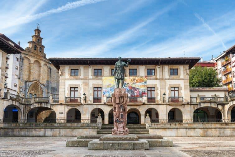 Vieille ville de Guernica, Espagne