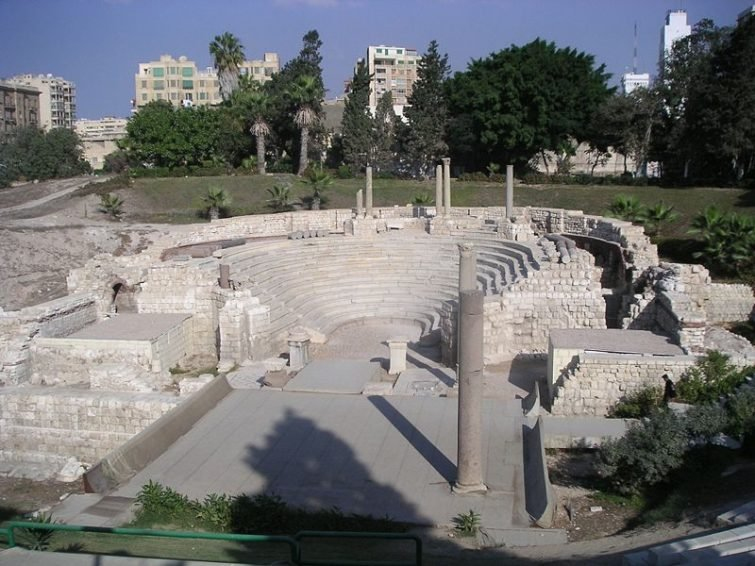 Amphithéâtre  Kom-El-Dickil, Alexandrie