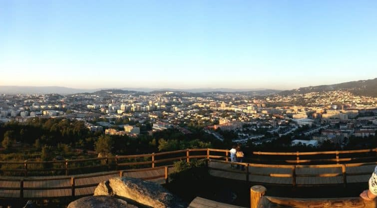Visiter Braga : Monte do Picoto Braga