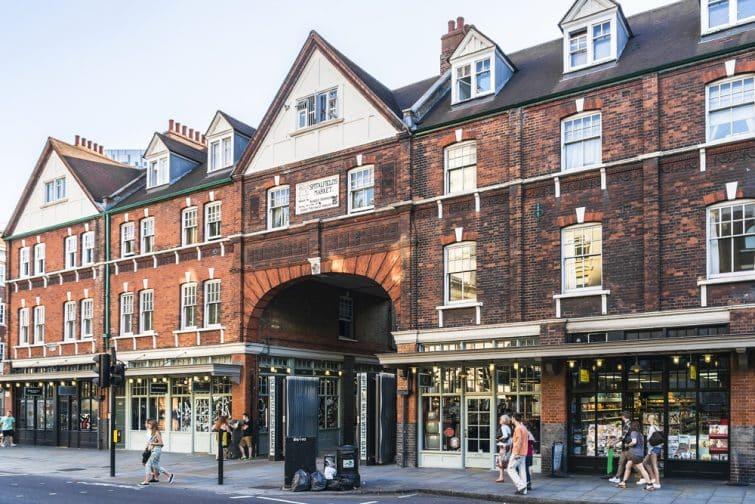 Old Spitalfields Market, Shoreditch, Londres