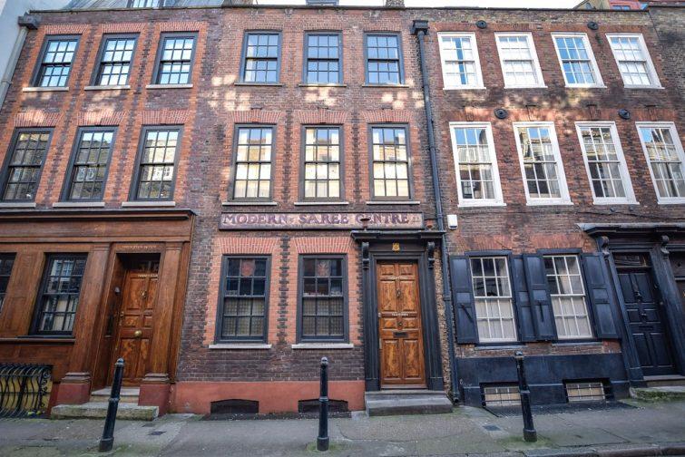 Modern Saree, Bricklane street, Shoreditch Londres