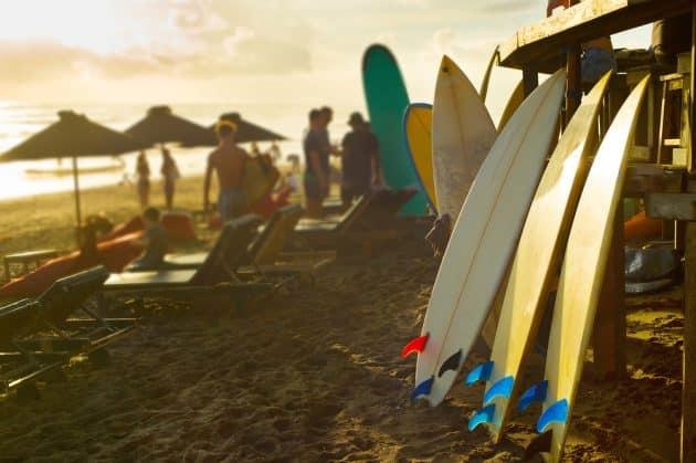 Les 10 meilleurs spots où faire du surf à Bali