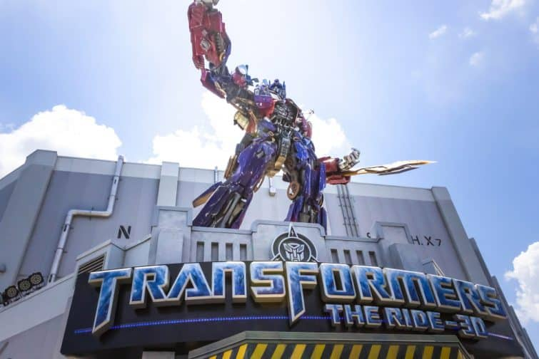 Attraction TRANSFORMERS: The Ride-3D, Universal Studios Orlando