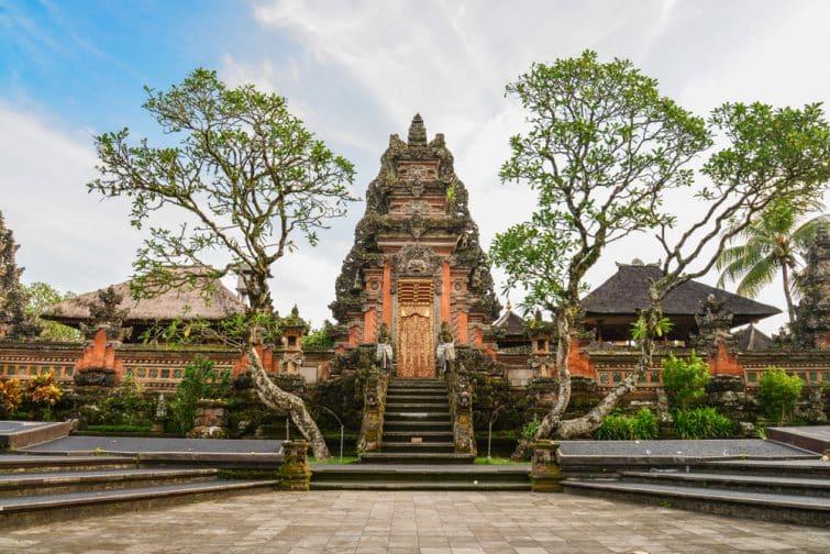 Temple Taman Saraswati, Ubud, Bali