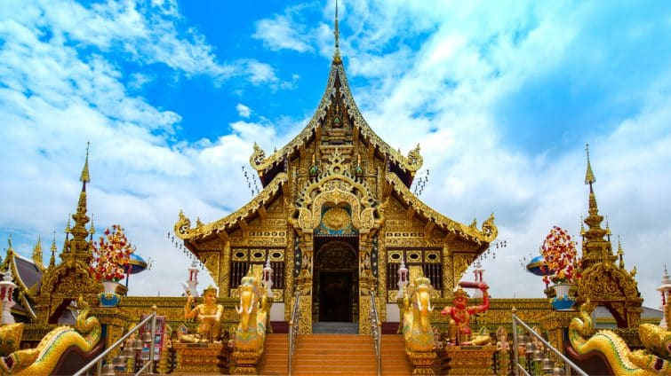 Temple buddha bangkok