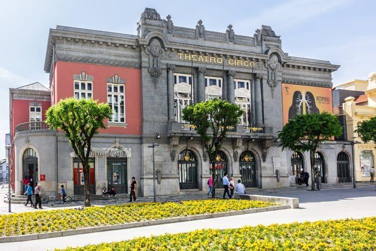 Visiter Braga : Théâtre Theatro Circo, Braga, Portugal