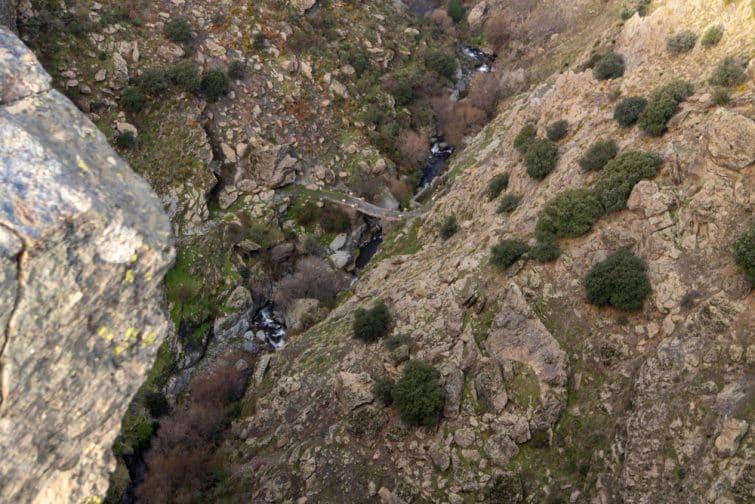 Canyon et rivière de Trevelez, Espagne