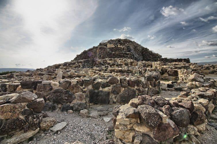 Vue du complexe archéologique