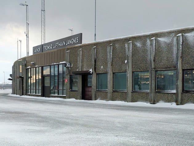 Transfert entre l'aéroport de Tromsø et le centre