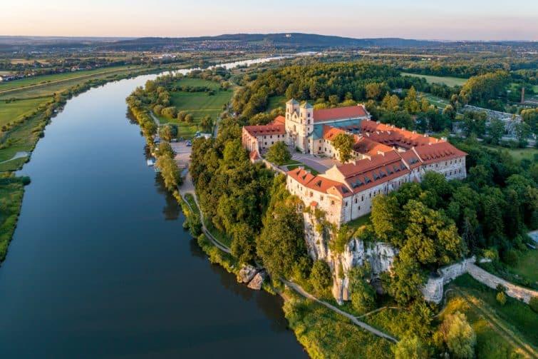 L'abbaye de Tyniec, Cracovie