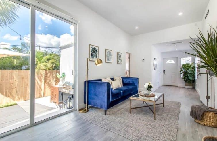 Airbnb à Miami : Casa blanca, Brickell