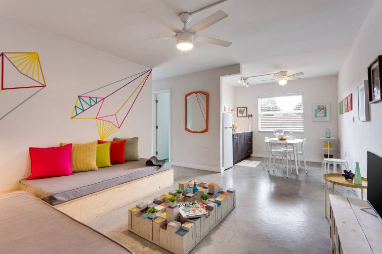 Airbnb à Miami : Appartement à Wynwood