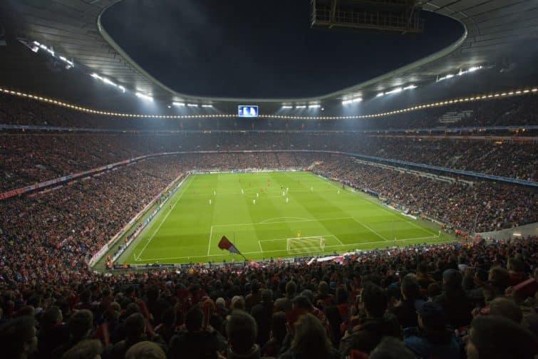 L'Allianz Arena, pleine pendant un match du Bayern