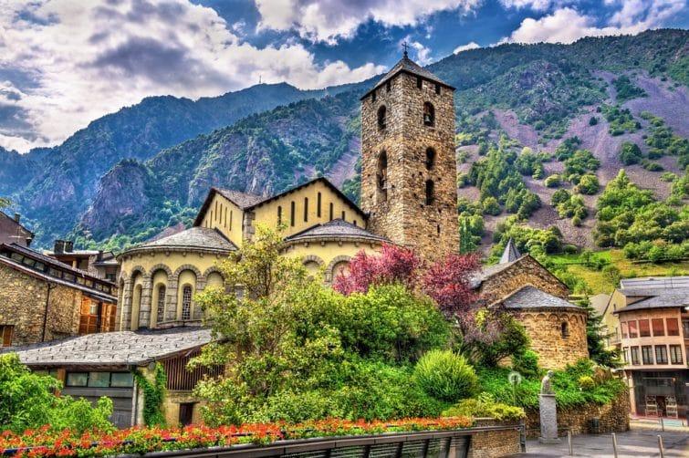 L'Église Sant Esteve d'Andorre la Vieille