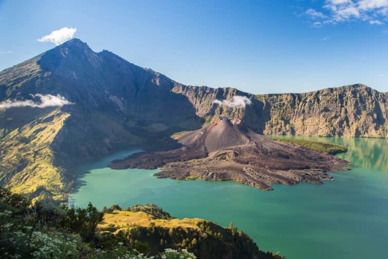 Mont Rinjani, Indonésie