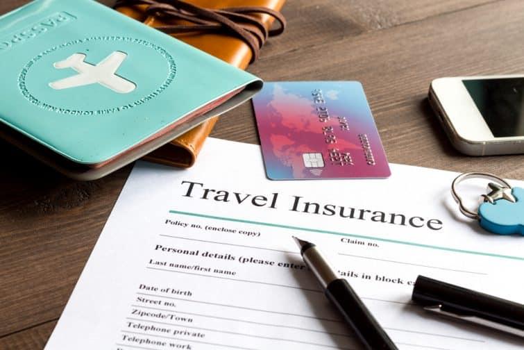 Remplir le formulaire d'assurance voyage