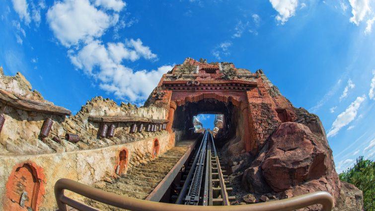 Montagne russe à Walt Disney Orlando