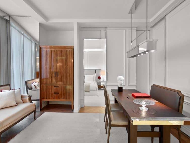 Chambre au Baccarat Hotel, New York