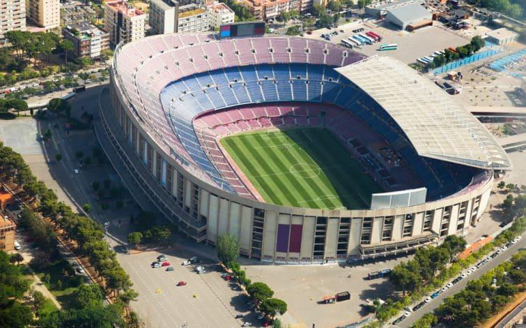 Le Camp Nou, antre du FC Barcelone