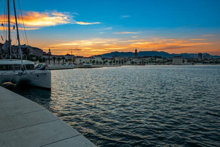 Visiter et louer un bateau à Split