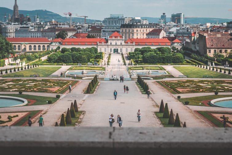 Palais du Belvédère, Vienne, Autriche
