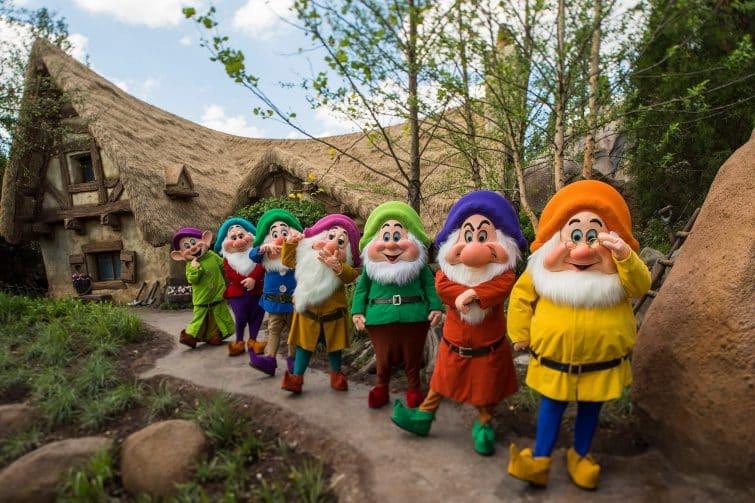 Les sept nains de Blanche Neige, Walt Disney Orlando