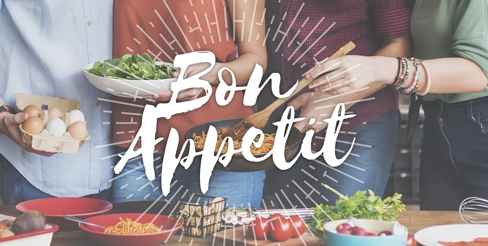 Bon appétit dans plusieurs langues