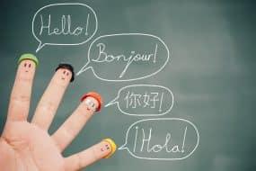 Bonjour dans plusieurs langues