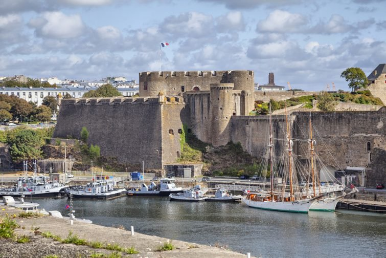 Vieux château de Brest