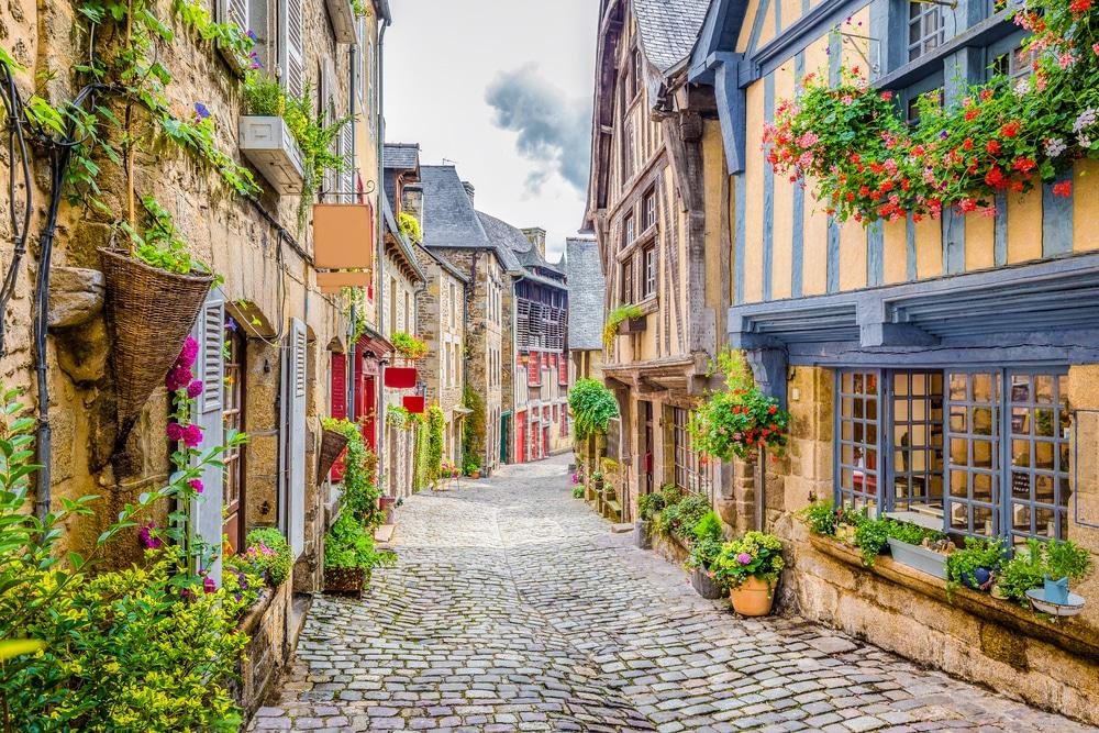 Les rues pittoresques de Dinan