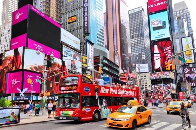 bus NY