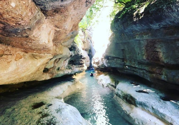 Canyon de Formiga, Sierra de Guara, Espagne