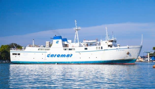 caremar naples ferry