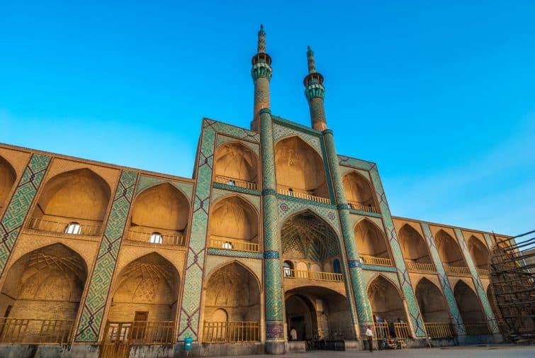 Complexe Amir Chakhmaq à Yazd