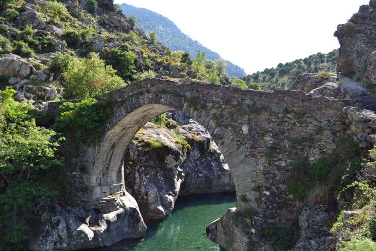 Les gorges de l'Asco, l'une des meilleurs excursions vers Calvi