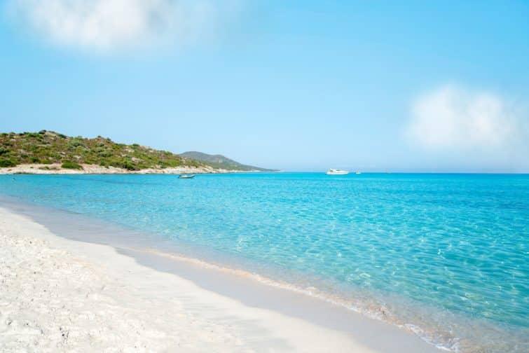 La plage paradisiaque de Saleccia