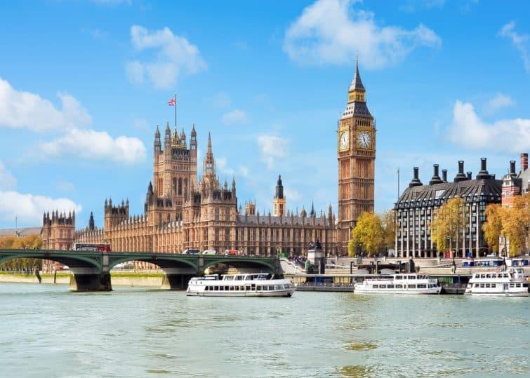 Croisière sur la Tamise, Londres