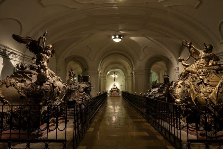 Intérieur de la Crypte des Capucins, Crypte impériale, Vienne
