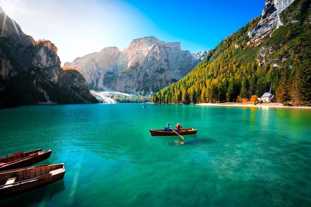 Visitare le Dolomiti e le sue foto del lago
