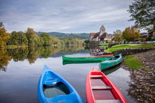 Les 8 endroits où faire du canoë-kayak en Dordogne