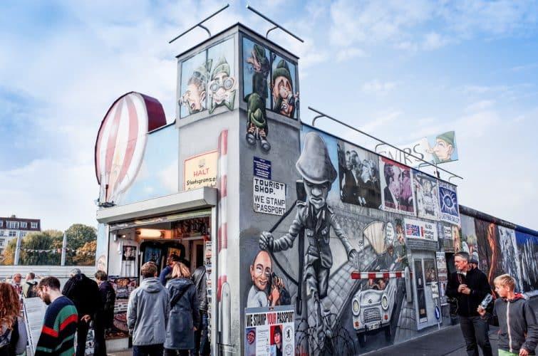 Street art à East Side Gallery, Berlin