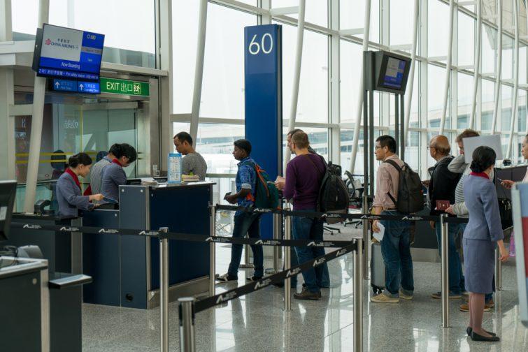 Arriver tôt à l'aéroport, c'est aussi ne pas manquer l'embarquement
