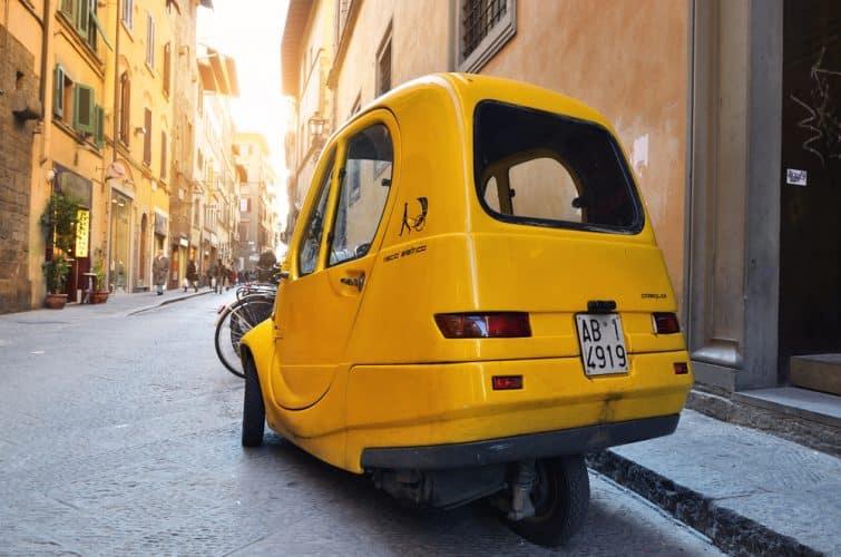 Voiturette électrique de location Florence, Italie