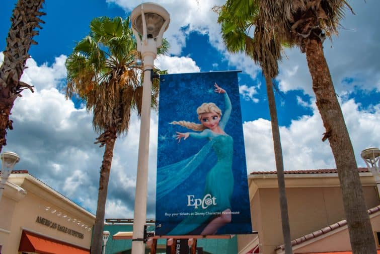 Frozen, la Reine des Neiges, EPCOT, Walt Disney Orlando